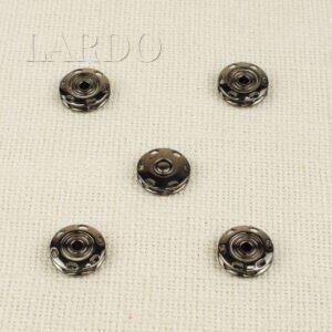 Кнопка металл пришивная ∅ 1,8 см тёмный никель