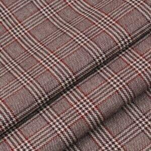 Шерсть костюмная в клетку гленчек Италия Состав: шерсть 100 % Плотность ≈ 300 г/м ² Ширина 150 см