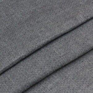 Лён костюмный серо-синий меланж Италия Состав: лён 100 %. Плотность ≈ 200 г/м ² Ширина 152 см