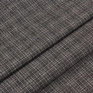 Шерсть костюмная клетка коричнево-розовая Италия Состав: шерсть 85 %, п/э 15 % Плотность ≈ 220 г/м ² Ширина 154 см