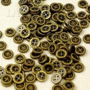 Пуговица DAKS SPORT металл ∅ 1,2 см никель