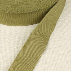 Репсовая лента цвета хаки Состав: хлопок 100 % шир. 3,0 см