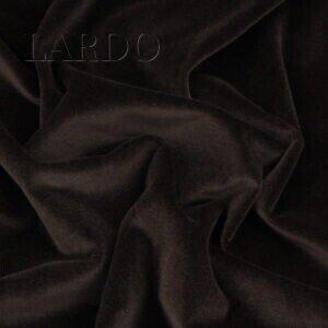 Бархат хлопковый коричневый Италия Состав: хлопок 100 % Плотность ≈ 255 г/м ² Ширина 146 см