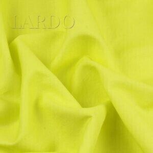 Костюмно-плательный хлопок неоновый лайм Италия  Состав: хлопок 100 %  Плотность ≈ 130 г/м ²  Ширина 132 см