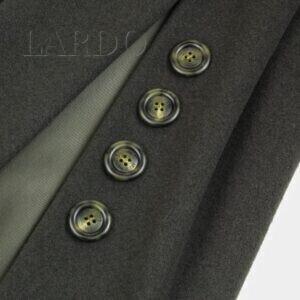 122 Пальтовая шерсть серо-зелёная/подкладка вискоза