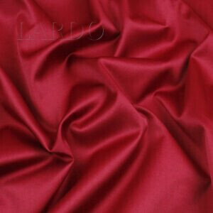 Сатин (атлас) стретч красно-малиновый Италия Состав: хлопок 53 %, ацетат 42 %, эластан 5 % Плотность ≈ 180 г/м ² Ширина 150 см