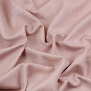 Трикотаж джерси Puntomilano цвета пыльной розы Италия Состав: вискоза 100 % Плотность ≈ 310 г/м ² Ширина 150 см